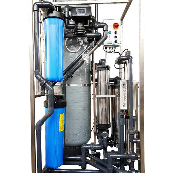 Clear Sanitary Water Treatment System